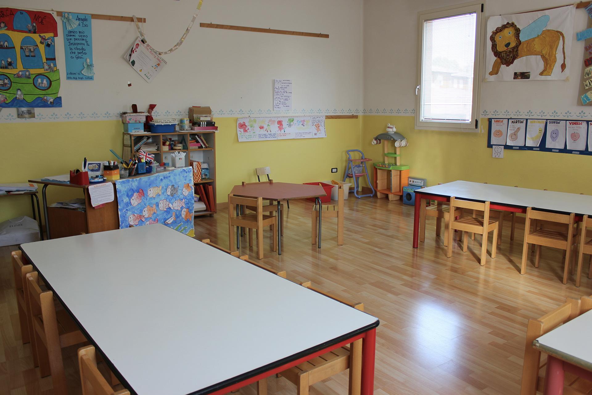 Spazi Scuola Infanzia Campalto Sant'Antonio - primo piano - classe 2