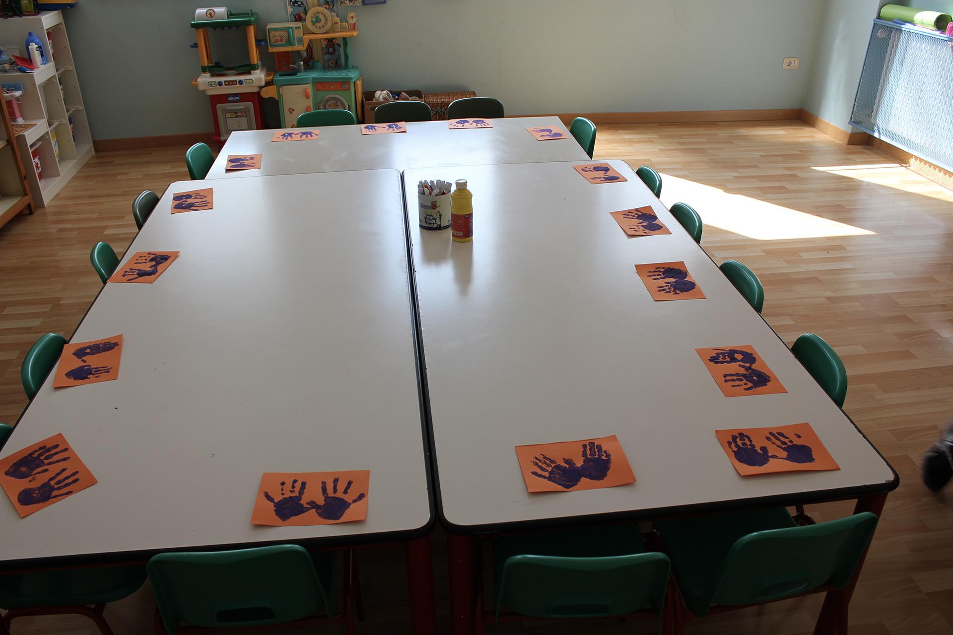 Spazi Scuola Infanzia Campalto Sant'Antonio - primo piano - classe 1