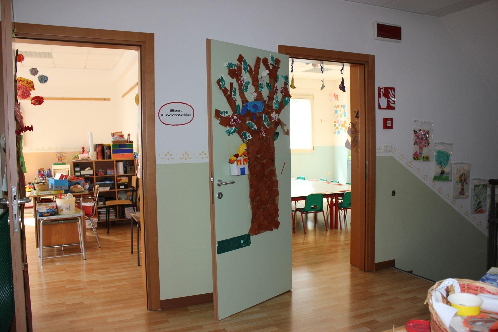 Spazi Scuola Infanzia Campalto Sant'Antonio - primo piano